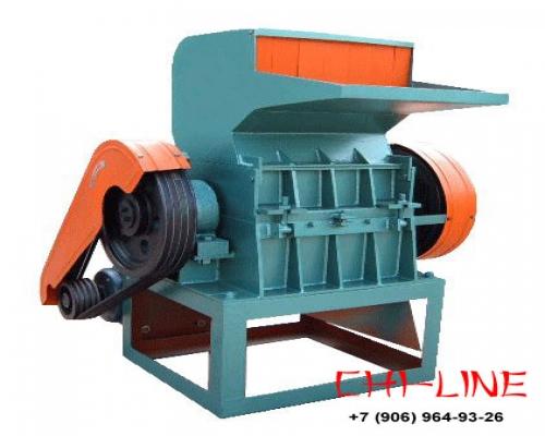 Дробилка SWP-560 для измельчения отходов пластмасс и дпк, до 500 кг/час