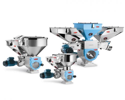 Гравиметрическая система дозирования компонентов для производства ДПК одностадийным способом