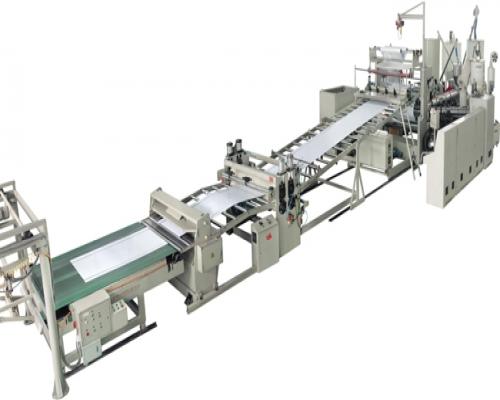 Экструзионная линия для производства однослойных или многослойных композитных листов ПП, ПЭ, ABS-пластика