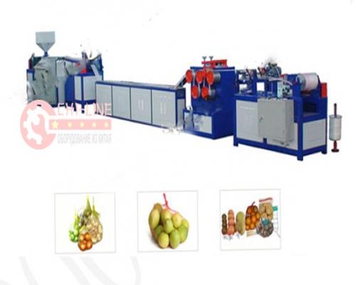 Экструзионная линия SW-55   производства сетки для овощей и фруктов