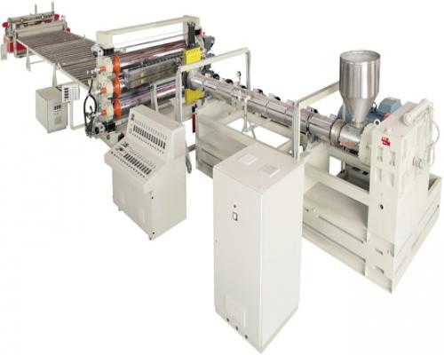 Экструзионная линия для производства сотового листа из ПС, ПП, ПЭ и ПВХ