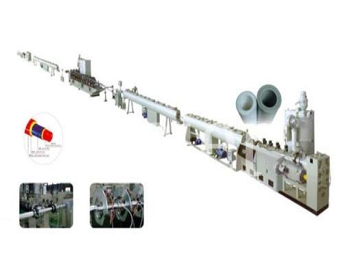 Экструзионная линия WSAP-D32 для производства металлопластиковых труб из ПЭ или ПП, диаметром трубы до 32 мм