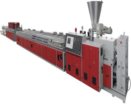 Оборудование для производства профиля оконного и дверного из ПВХ