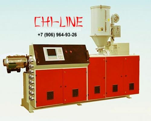 Экструдер одношнековый SJ 150/35 для экструзии