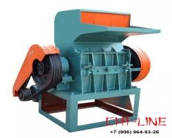 Дробилка SWP-450 для измельчения отходов пластмасс и дпк, до 350 кг/час