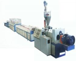 Линия для производства строительной опалубки из ДПК