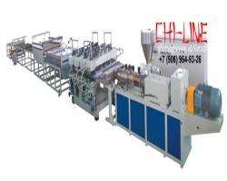 Экструзионная линия для производства мебельного листа из ДПК