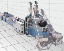Одношаговая экструзионная линия SH 65/120 по производству ДПК на основе ПЭ/ПП