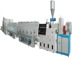 Экструзионная линия для производства газовой и водопроводной трубы из ПЭ