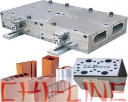 Формующая фильера для ДПК, ПВХ на экструдер