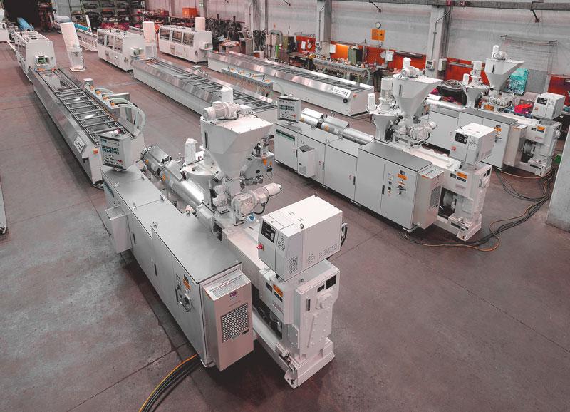 Производство террасной доски из дпк оборудование